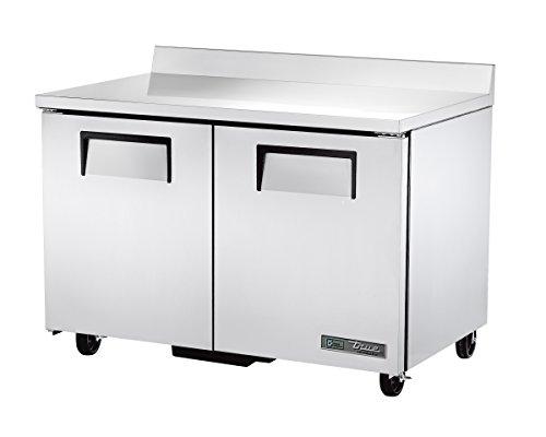 True TWT-48-HC Solid Door Worktop Refrigerator with Hydrocarbon Refrigerant 395 Height 31125 width 48375 Length