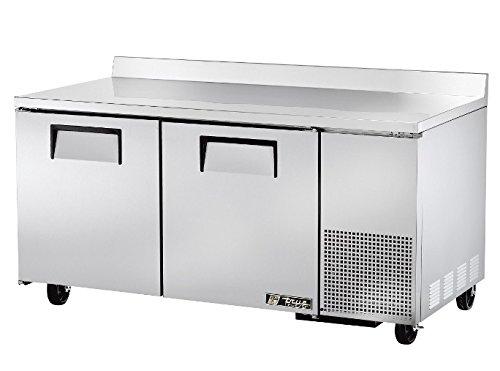 True TWT-67F Worktop Freezer Solid Door