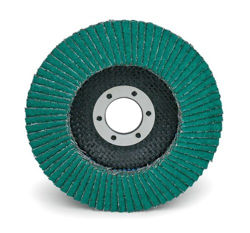 3M 577F Type 27 Coated Alumina Zirconia Flap Disc - 60 Grit - 4 12 in Dia 78 in Center Hole - 13300 Max RPM - Standard - 30957 PRICE is per DISC