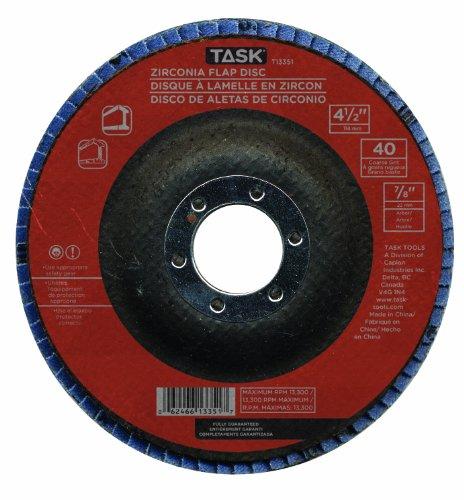Task Tools T13351  Zirconia Flap Disc