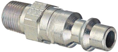 Eaton Hansen 12E Steel 1000400500 Series Industrial Interchange Coupler Plug 14 Body size x 18 NPT Male