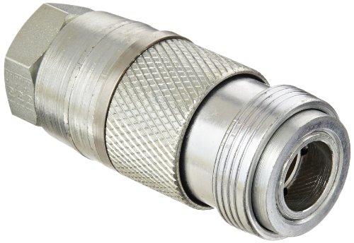 Eaton Hansen 23204400 Carbon Steel Full Bore Series Industrial Interchange Coupler Socket 38 Body size x 12 Barb