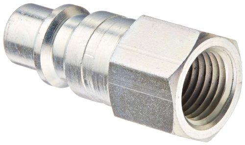 Eaton Hansen 41 Steel 1000400500 Series Industrial Interchange Coupler Plug 38 Body size x 14 NPT Female