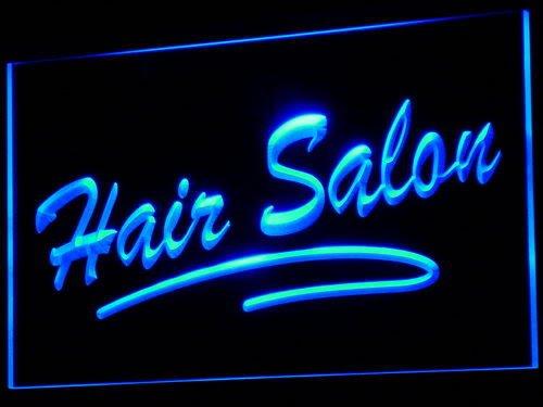 ADV PRO i561-b Hair Salon Script Cut NEW OPEN Neon Light Sign