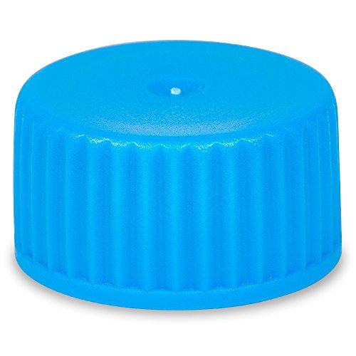 Screw Caps for Transport Tubes of 5ml10ml PE material Blue color Karter Scientific 239D2 Pack of 1000
