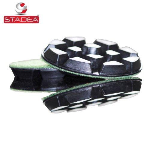 floor polishing pads polisher pads for stone concrete floor polishing - grit 50 by Stadea