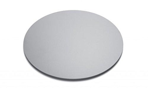 Grey Acrylic Plexiglass Disc Diameter 18 - 18 Thick Opaque 0 D504