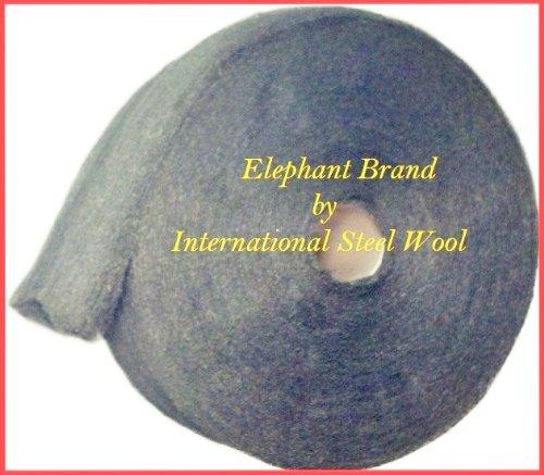 Case of FINE Stainless Steel Wool 5 x 5lb rolls  25lbs