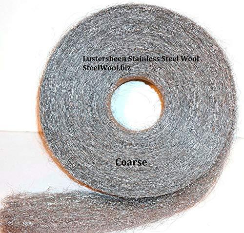 New Stainless Steel Wool Reel 5 lb Reel - Coarse