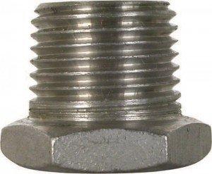 12 x 38 Stainless Steel Reducer Bushing
