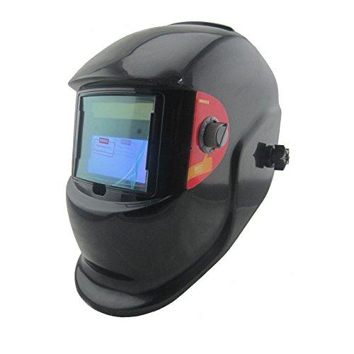 Black Solar auto darkeningshading MMA TIG MIG ARC welding mask welder cap helmets face mask