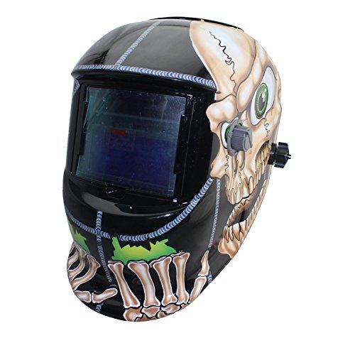 NEW Black DIN9-IN13 Solar auto darkening MMA TIG MIG ARC welding mask welder cap helmets face mask Black