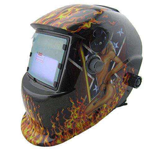 NEW sexing paint Solar auto darkening MMA TIG MIG ARC welding mask welder cap helmets face mask