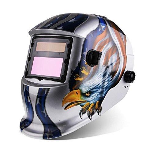 IHP Pro Solar Auto Darkening Welding Helmet Tig Mig Arc Mask Grinding Welder Mask - Eagle