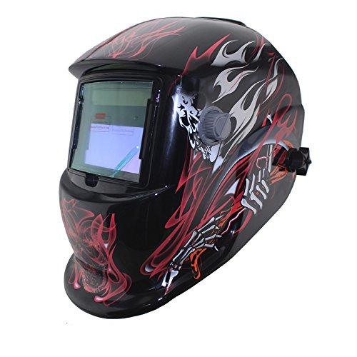 NEW Fire Solar auto darkening MMA TIG MIG ARC welding mask welder cap helmets face mask