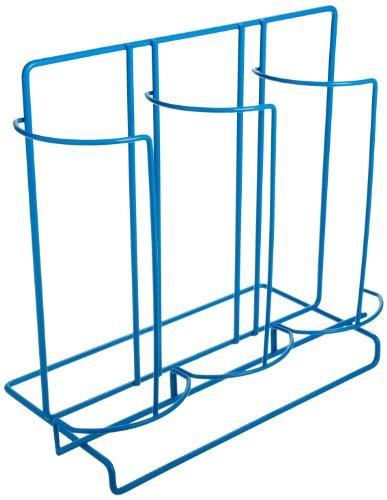 Bel-Art F18979-0001 Poxygrid 100mm Petri Dish Dispensing Rack 5¾ x 12¾ x 11 in 60 Places