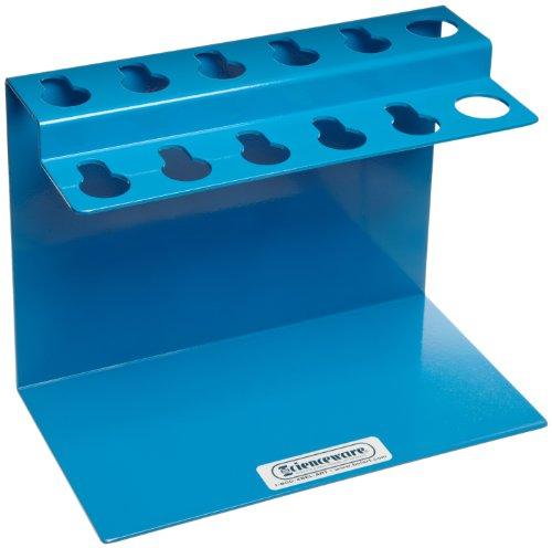 Bel-Art H18962-0001 Poxygrid Aluminum Microliter Pipettor Rack for Gilson Pipetman for Desktop Storage