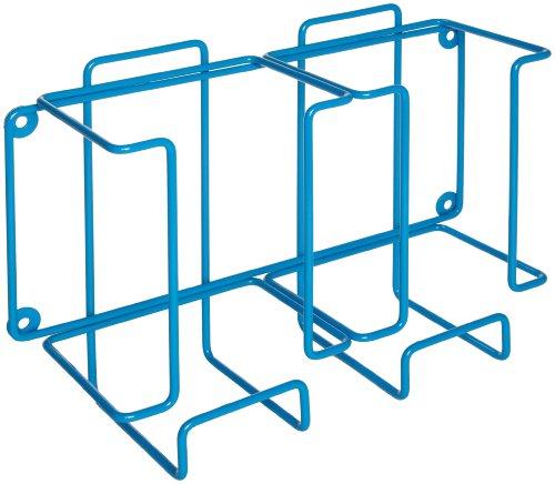 Bel-Art Poxygrid Glove Dispenser Rack Double Box Holder 12 x 4¼ x 8¼ in Blue F24739-0002