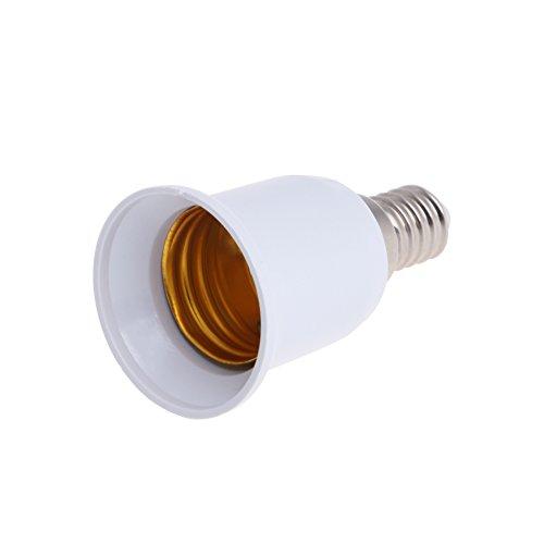 Onpiece E14 To E27 Base Screw LED Light Lamp Bulb Holder Adapter Socket Converter