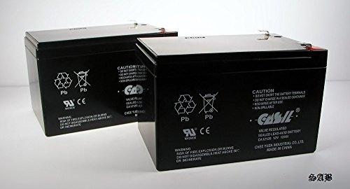 2 Casil 12v 12ah F2 Scooter Battery for Enduring CB12-12 CB-12-12