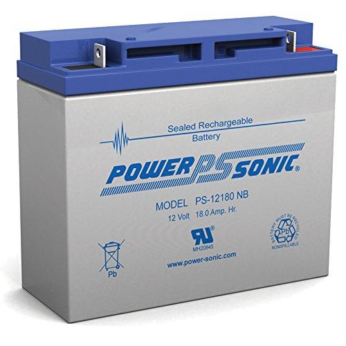 12V 18Ah Sealed Lead Acid Scooter Battery D5745 40648 UB12180 WP18-12 6FM18