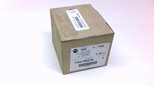 Allen Bradley 1492-Fb3c30 - Pack Of 2 - Series B Fuse Holder 30A 1492-Fb3c30 - Pack Of 2 - Series B