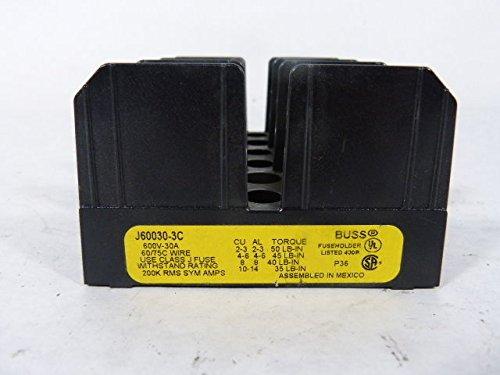 Bussman J60030-3C Fuse Holder 30A 600V