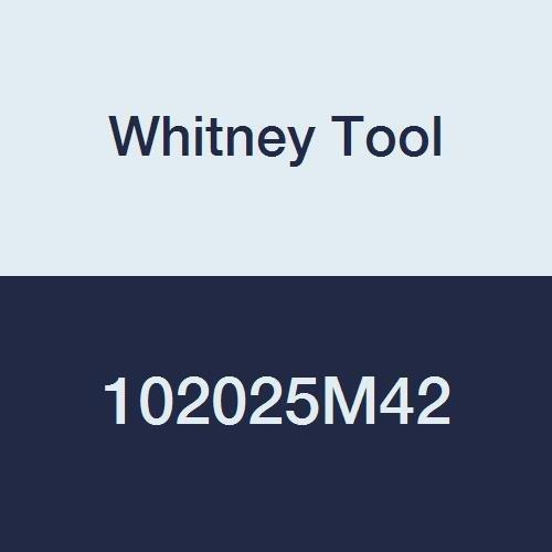 Whitney Tool 103030M42 Keyseat Milling Cutter Style 100 303 212 38 Cutting Diameter 332 Cutting Width M-42