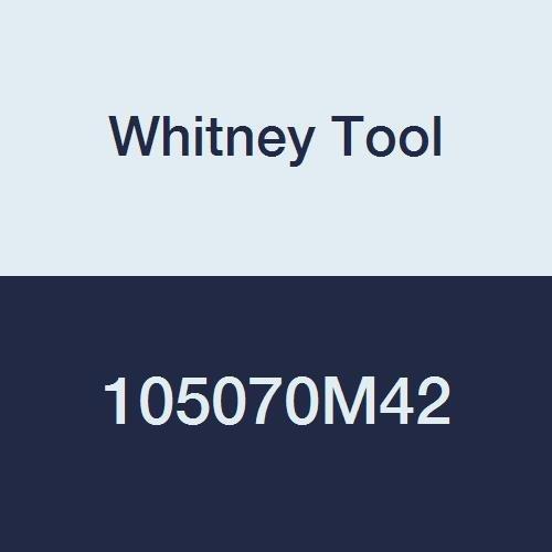 Whitney Tool 108070M42 Keyseat Milling Cutter Style 100 807 A 78 Cutting Diameter 14 Cutting Width M-42