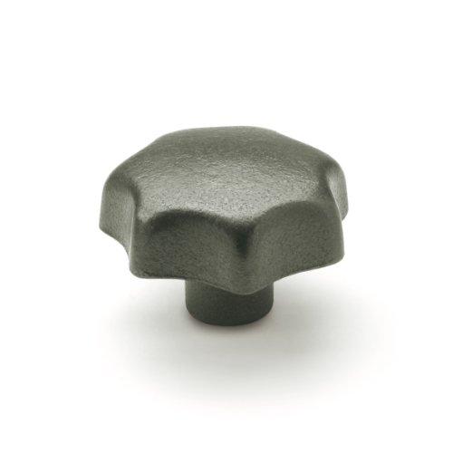JW Winco Type E Cast Iron Tapped Hand Knob Threaded Hole M12 x 175 Thread Size X 28mm Thread Depth 80mm Head Diameter Pack of 1