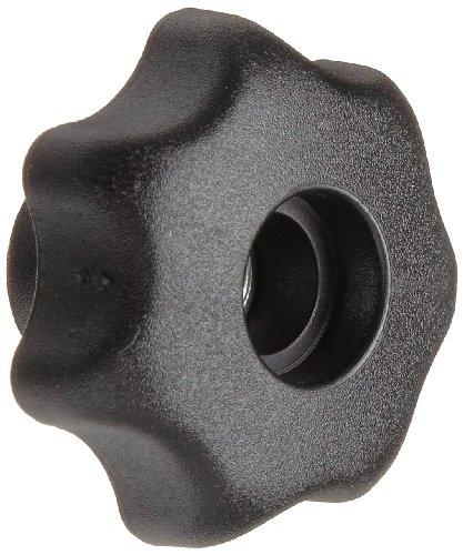 Morton Glass Fiber Polymide Multiple Lobe Knob Fluted Rim Threaded Hole 12-13 Thread Size x 079mm Thread Length 248mm Diameter Pack of 2