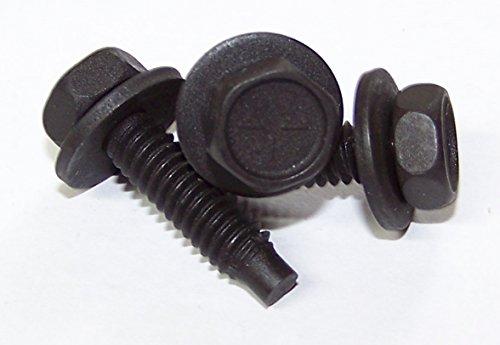 50 Qty-14-20 X 1 Hex Head Body Bolt WFree Spinning Washer WDog Point9480