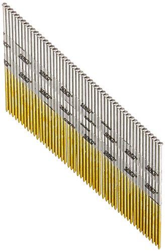 3500 Count Senco A302500 2-12-Inch 15 Ga Bright Basic 34 Degree Angled Strip Clamshell Pack Standard Tensile Finish Brad-Nail