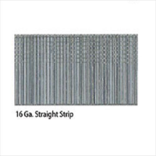 3500 Count Senco A401509 1-12-Inch 16 Ga Regular Galvanized Straight Strip Clamshell Pack Standard Tensile Finish Nail