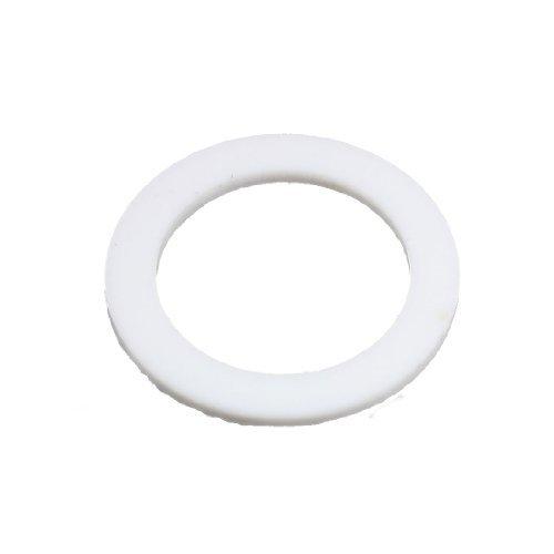 DealMux White Flat PTFE Washer Gasket 1 110 x 1 916 x 564