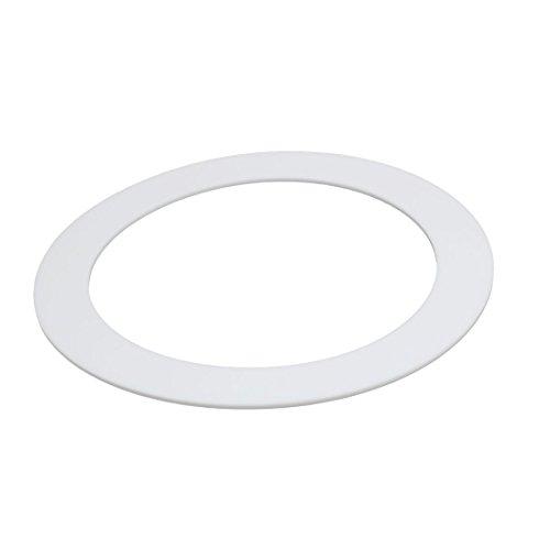 uxcell DN150 159mmx212mmx3mm PTFE Flat Washer Gasket White