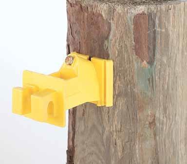 Snug Wood Post Insulator