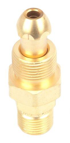 Forney 87808 ArgonNitrogen Regulator Adapter CGA 580 To CGA 320 Tank to CO2 Cylinder