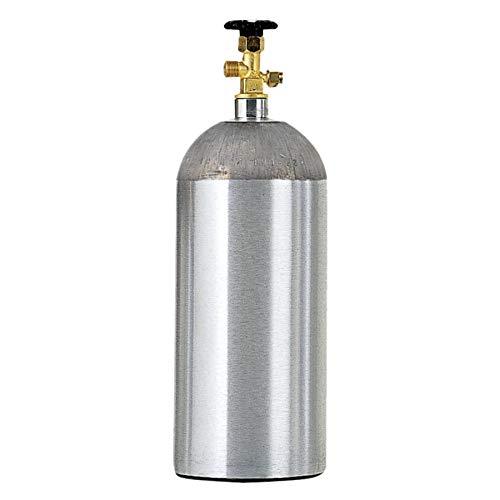 Micro Matic 430A-15E 15 lb Aluminum CO2 Cylinder