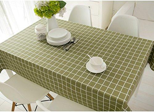 Hyun times Continental fresh light green plaid tablecloths classic American Continental dining table tablecloth tablecloths long  Size  130200