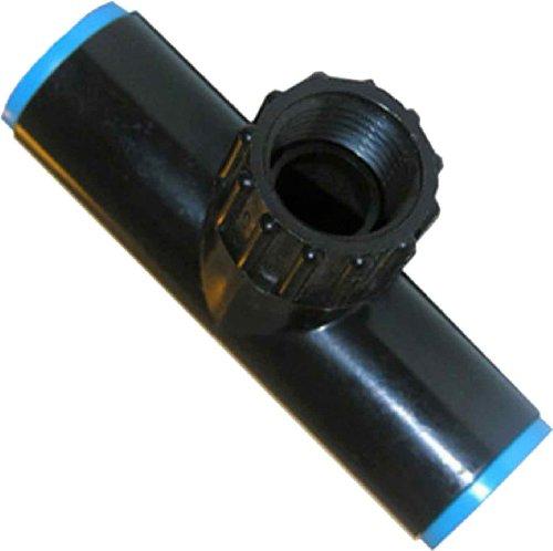 LASCO 15-8514P 58 710 OD Drip Tube Compression Fitting by Female Hose Swivel Tee