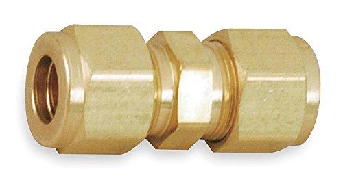 Parker A-Lok 4SC4-B Brass Compression Tube Fitting Union 14 Tube OD