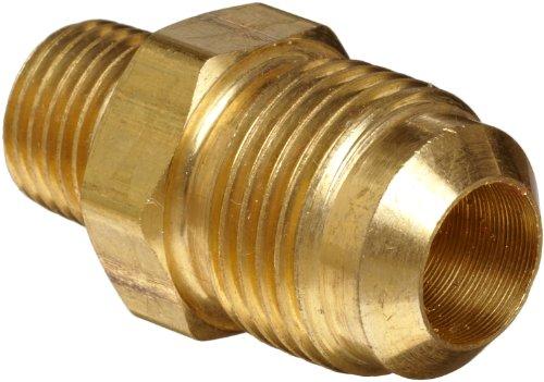 Anderson Metals Brass Compression Tube Fitting Half-Union 58 Flare Tube OD x 38 Male Pipe