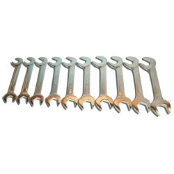 V-8 Tools 10 Piece Jumbo Angled Wrench Set V8T9810 Category Open End Wrench Sets
