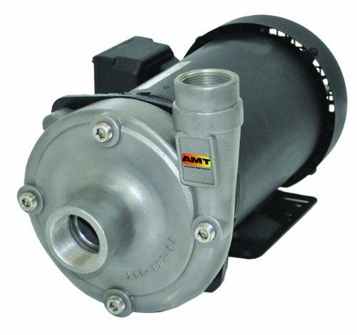 AMT 4902-95 15 x 125 High Head Straight Centrifugal Pump Cast Iron Buna-N Seal 15hp 1 Ph ODP