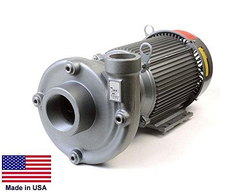 Straight Centrifugal Pump - Cast Iron - 3  2 Ports - 230460V - 22800 Gph