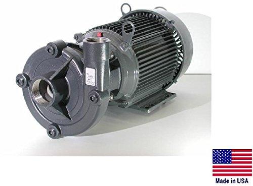 Straight Centrifugal Pump - Stain Stl - 3  2 Ports - 230460V 20520 Gph