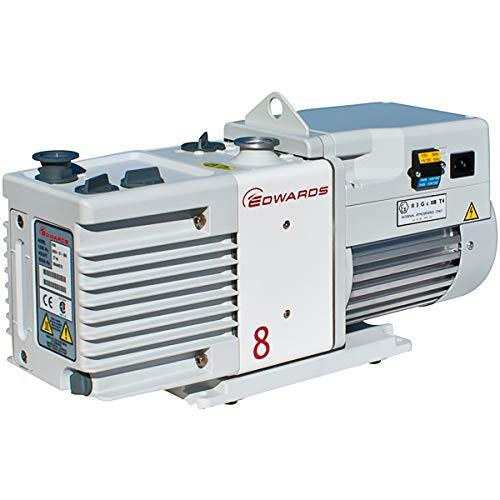 BOC Edwards Rotary Vane Vacuum Pumps for Gel Dryers and Vacuum Ovens RV8 Air Displacement 69cfm