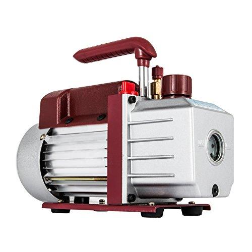 Bestauto Vacuum Pump 45CFM Vacuum Pump HVAC Single-Stage Rotary Vane Vacuum Pump 13HP 5PA Ultimate Air Conditioning Refrigerant Vacuum Pump