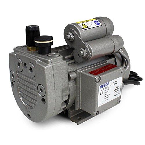 Fibre Glast - Oil Free - Very Low Maintenance - Rotary Vane Vacuum Pump -Medium Duty Continuous Operation 28 CFM Air Flow3HP 255 HG Low Heat Noise